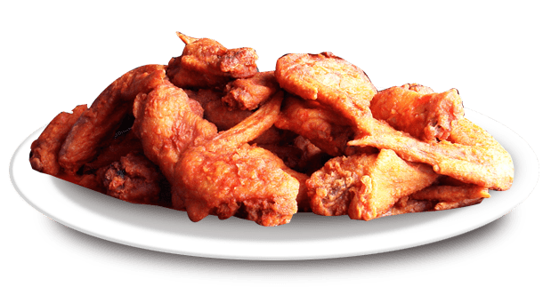 buffalo wings half price at Dadz bar and grill
